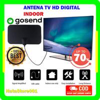 ANTENA TV Digital HD INDOOR Dalam Rumah Penguat Signal Original Jernih
