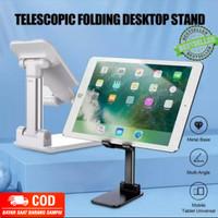 Standing Holder HP Tablet Meja Folding Desktop Bracket Aluminium