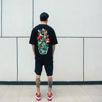 Ageless Galaxy x SaladStop! T-Shirt - Black Short Sleeve