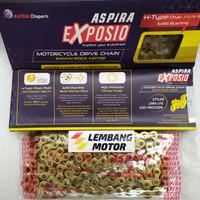 Rantai Roda Gold ASPIRA EXPOSIO 428H-120