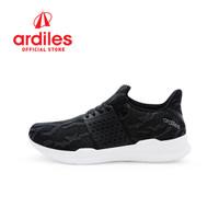 Ardiles Women Gwyneth Sepatu Running - Hitam Abu