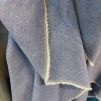 kain chambray/katun denim/bahan atasan kemeja dress
