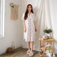 GREET Piyama Wanita/Katun Jepang Premium/K-297 (D - Free size)