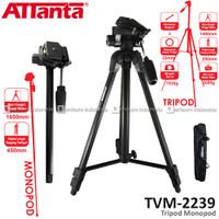ATTANTA TVM-2239 Traveller Tripod Monopod for Camera DSLR Mirrorless