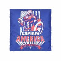 Miniso Bantal Fitur Marvel / Bantal Sofa / Ruang Tamu - Capt America