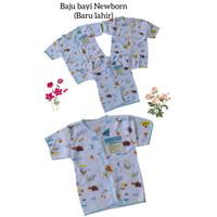 baju bayi katun lengan pendek 3pcs bayi newborn
