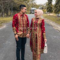 COUPLE BATIK SONGKET KURUNG U Palembang