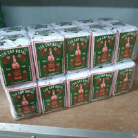 Teh Cap Botol Hijau 40 Gram - 1 Pak isi 10 Pcs - Teh Bubuk / Tubruk