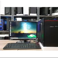 PC RAKITAN CORE I5 RAM 8GB FULLSET MONITOR 19IN BARU