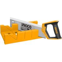 Mitre Box & Back Saw Set INGCO HMBS3008 - Gergaji Miter Pigura Manual