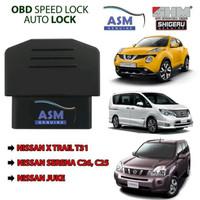 Auto lock, Speed lock OBD Auto Lock Nissan Serena, Juke, Xtrail