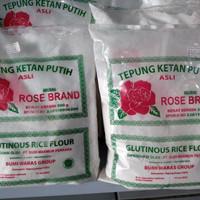 tepung ketan putih rose brand 500g
