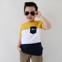 Kaos Pakaian Baju Anak Laki Laki LilyandClark Umur 1-10 Tahun KLC17 - S