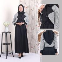 Baju Gamis Wanita Dress Muslim cewek remaja dewasa ALL SIZE MC602
