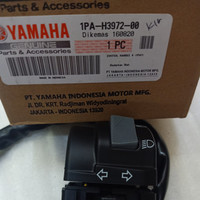 Switch Handle-Saklar Kiri Yamaha Vixion New NVL 1PA-H3972-00 Asli