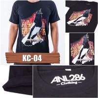 KAOS BURUNG KACER KC 04 BAJU GAMBAR BURUNG TERMURAH DISTRO KICAU MANIA