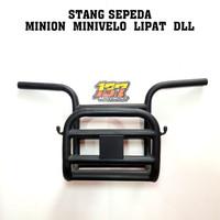 stang setir handlebar sepeda Mini minivelo Minion lipat bmx fixie bala