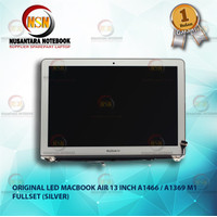 LCD LED Apple MacBook Air 13 Inch A1369 A1466 Assembly Fullset Silver