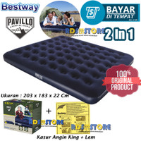 Bestway 67004 Kasur Angin King [203cm x 183cm] / Air Bed King Size