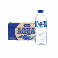 Air Mineral Aqua Botol 330 ml isi 24