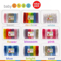 Bedong Baby Chaz - 6pc