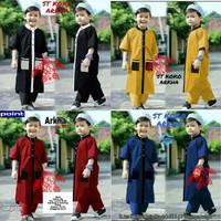 baju Koko Anak Laki laki 1 - 10 tahun - Stelan Koko Anak ARKHA Premium