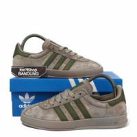 Sepatu Sneakers Casual Adidas BROOMFIELD Suede Grey Olive Green BNIB