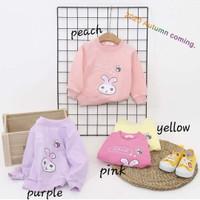 baju hangat sweater import bunny anak bayi perempuan