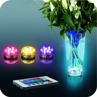 Lampu LED Underwater Hias Akuarium Vas Bunga Kolam Renang Bak Mandi