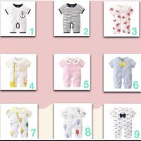 Jumper Romper Baby / Baju Bayi Premium Usia 0-9 Bulan PREMIUM IMPORT!!