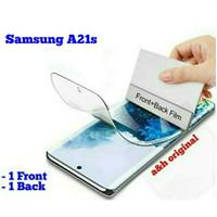 Hydrogel Screen Protector - Samsung Galaxy A21s Full Set