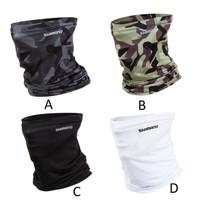 Masker Buff Merk SHIMANO Bahan Ice Silk Lembut Dingin & UV Protector