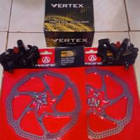 Rem Cakram sepeda set disc brake set sepeda 160 mm