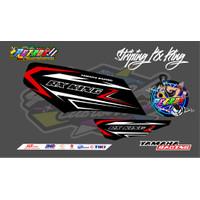 Striping Variasi RX KING Les Body Motor Stiker Racing
