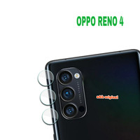 Soft Tempered Glass Back Camera Kamera Lens - Oppo Reno 4