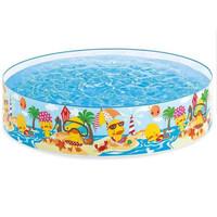 Kolam Renang Anak Tanpa Tiup / Pompa lipat portable Fill & Fun Pool
