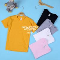 kaos polos anak NSA Premium Cotton Youth T-shirt 72Y00 KHUSUS PUTIH
