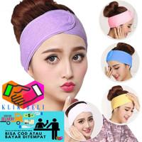 Bando Mandi Facial Headband Handuk Kepala Bandana Rambut - 1 Pcs