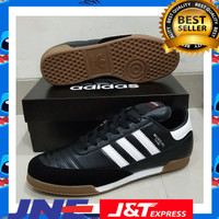 sepatu futsal adidas copa mundial team goal black white new murah