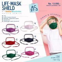 AC 27 Life-Mask Face Shield Masker Anak 3ply