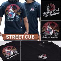 kaos motor c70 street cup , kaos honda street cup , baju motor,kaos mo