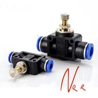 Kran CO2 DIY 6mm Flow Control Keran Aquascape Speed Control Pneumatic