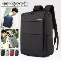 Backpack Denim Tas Ransel Laptop Tas Punggung Tas Kantor