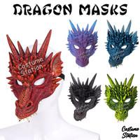 Dragon Mask / Topeng Naga Hewan Binatang Pesta Dewasa