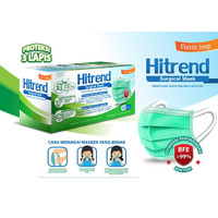 Surgical Mask HITREND BFE 99%