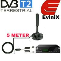 Evinix Antena Digital DVB T2 Indoor Skybox