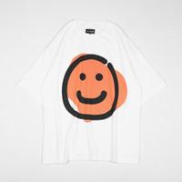 FF BIG SMILEY / Oversized Tees / Baju Oversize - M