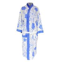 Handuk kimono dewasa motif kembang handuk baju handuk berenang dewasa