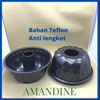 Loyang Kue Bolu Tulban Marmer Chiffon Anti Lengket Import CH01