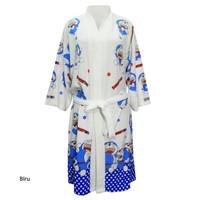 Handuk kimono dewasa doraemon handuk baju handuk berenang dewasa